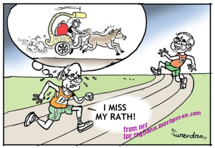 cartoon advani